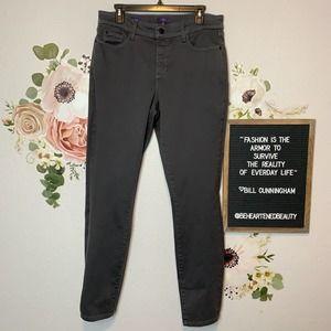 NYDJ Alina Legging, High Rise, Slim Fit Jeans Sz: 12
